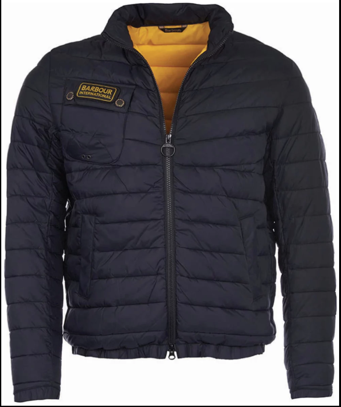 International Chain Baffle Quilted Jacket