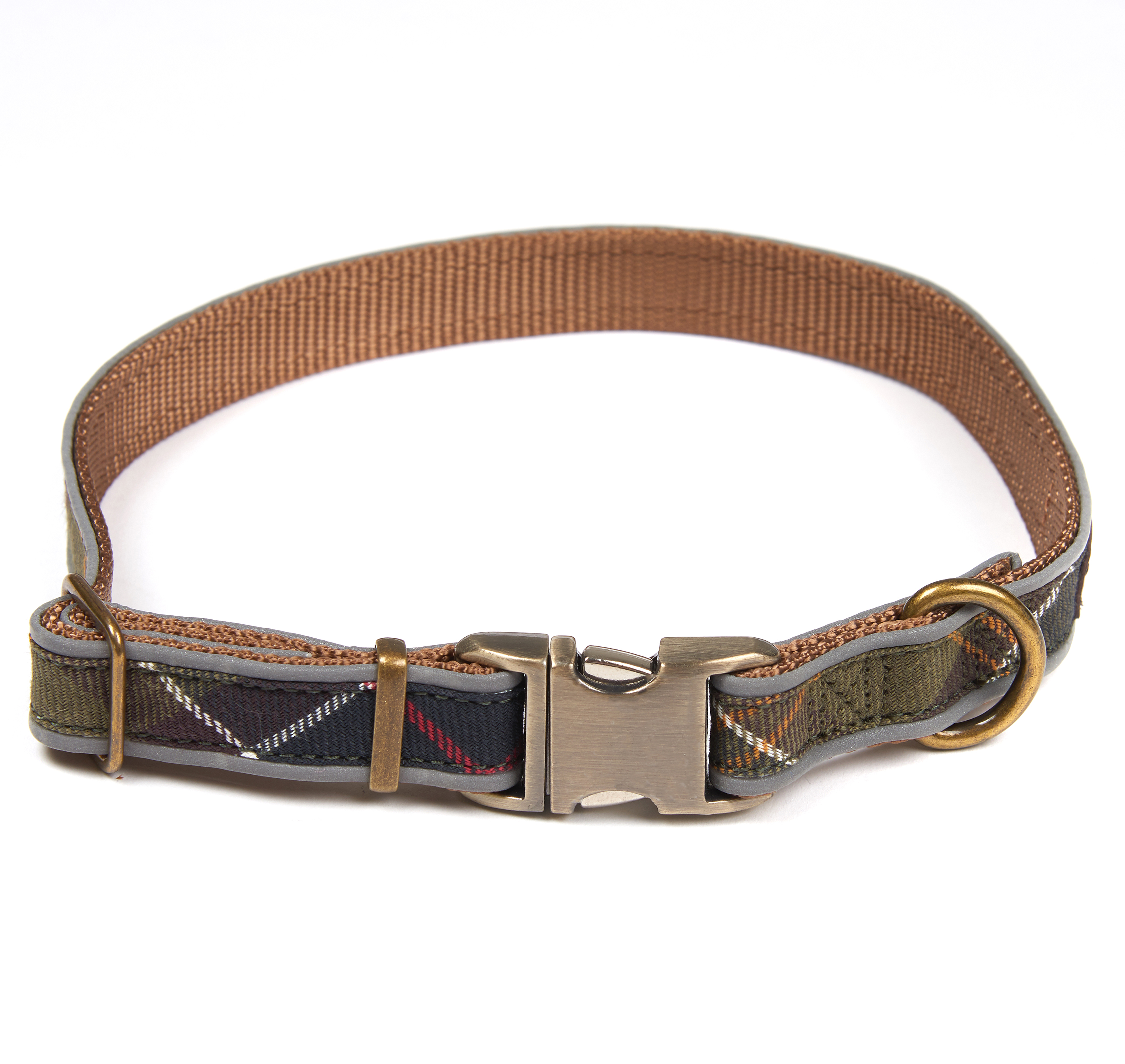 Reflective Tartan Dog Collar - Illustration n°2
