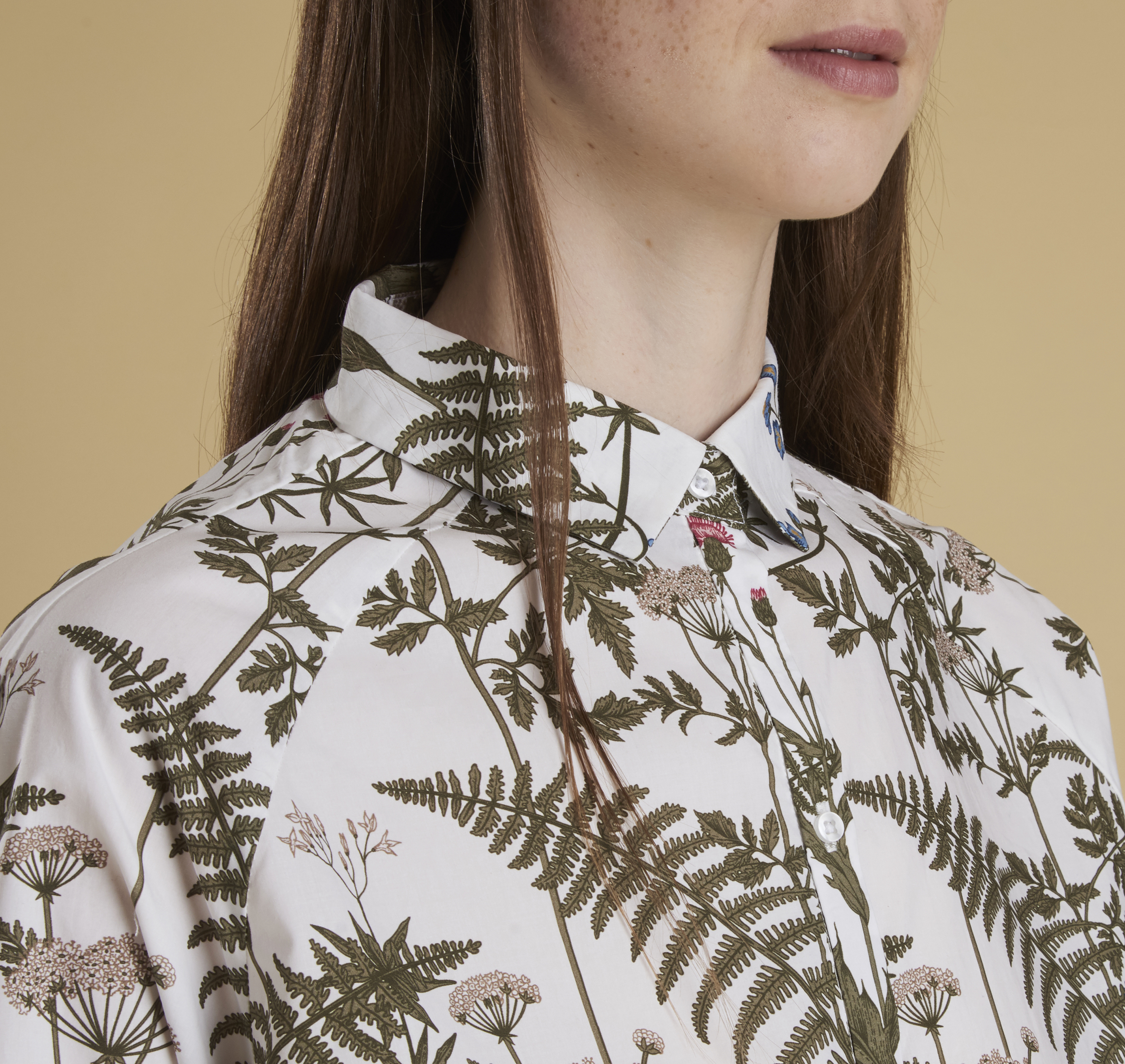 Wildflower Printed Shirt - Illustration n°5