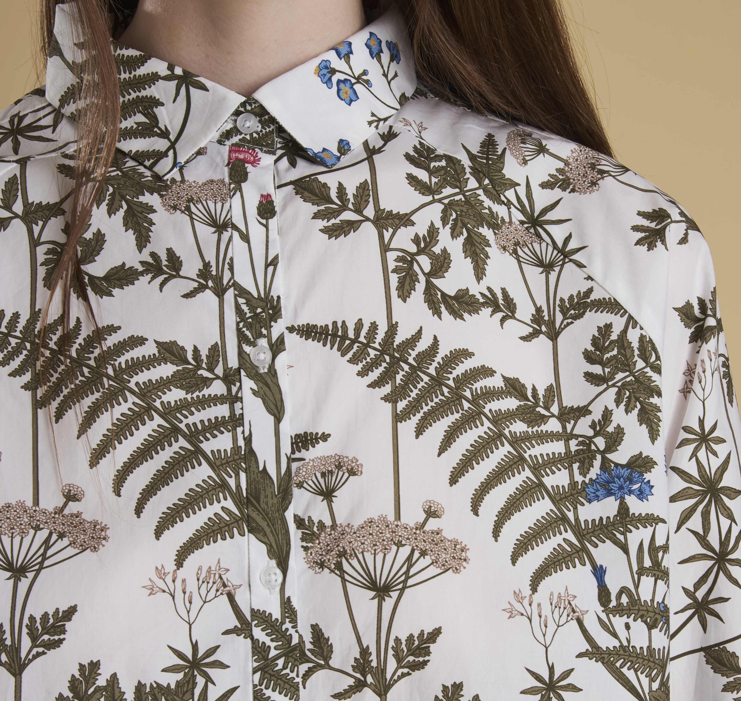 Wildflower Printed Shirt - Illustration n°7