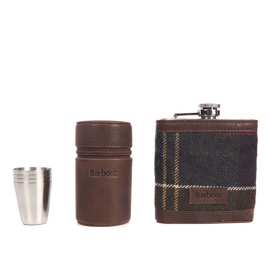Tartan Hip Flask And Cups - Illustration n°2