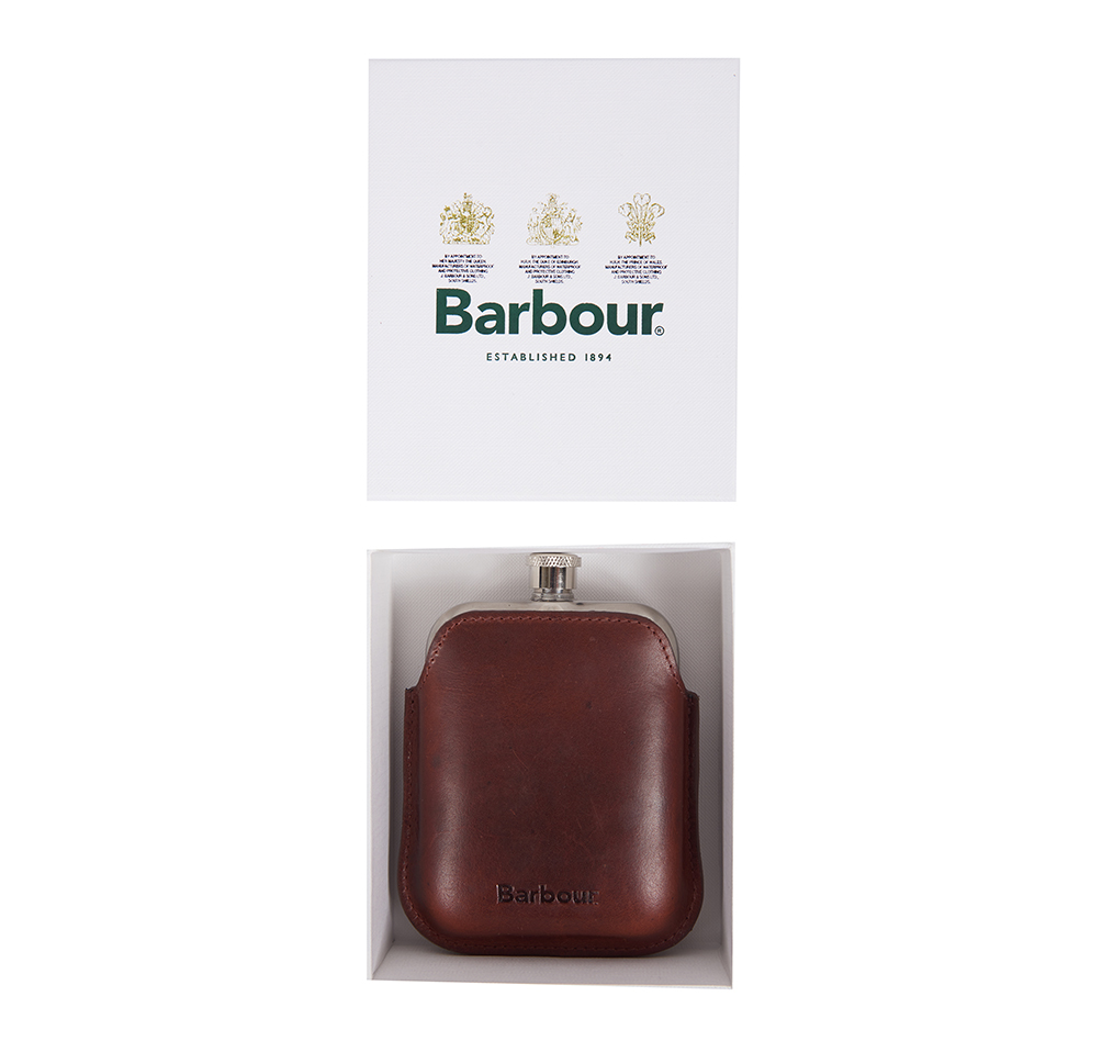 Wax Leather Hipflask