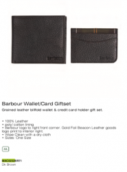Wallet Card Giftset